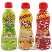Combo de Óleo Vegetal Popcorn - Três sabores.