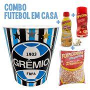 Combo Futebol em Casa + Balde do Grêmio