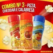 Combo Popcorn nº 3 - Pizza, Cheddar e Calabresa