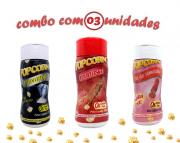 Combo Popcorn - 03 Sabores - Churrasco, Sal do Himalaia e Flavapop Manteiga