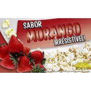 Caramelos para fazer Pipoca Doce sabor Morango - Pipoqueiras de Cinema - Pacote de 1kg
