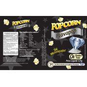 FLAVAPOP - Original de cinema -  Manteiga - Micronizado Popcorn  - Pct 1kg