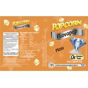 FLAVAPOP - Original de cinema -  Pizza - Micronizado Popcorn  - Pct 1kg