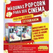 Máquina Popcorn Profissional Cinemas - MPD