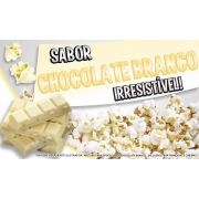 Sabores p/ caramelizar  Pipoca Doce - Chocolate Branco - 1kg