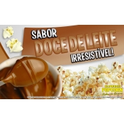 Sabores p/ caramelizar Pipoca Doce - Doce de Leite - 1kg