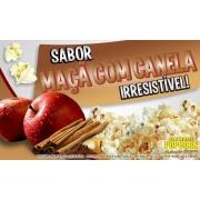 Sabores p/ caramelizar Pipoca Doce - Maçã c/ Canela - Pct 1kg