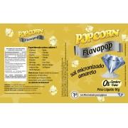 Sal Micronizado Amarelo Popcorn - Pct 1kg