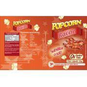 Tempero Pipoca Popcorn - Sabor Bacon - 1kg