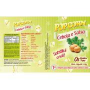 Tempero Pipoca Popcorn - Sabor Cebola e Salsa - 1kg