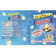 Tempero Pipoca Popcorn - Sabor Manteiga - 1kg