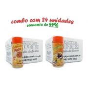Temperos P/ Pipoca -24 Frascos -pizza -molho Mexicano