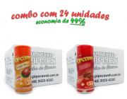 TEMPEROS P/ PIPOCA - CAIXA 24 FRASCOS - 12 FRANGO ASSADO - 12 BACON