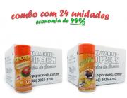TEMPEROS P/ PIPOCA - CAIXA 24 FRASCOS - 12 FRANGO ASSADO - 12 MOLHO MEXICANO