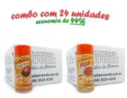 TEMPEROS P/ PIPOCA - CAIXA 24 FRASCOS - 12 FRANGO ASSADO - 12 PIZZA