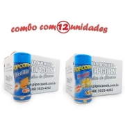 TEMPEROS P/ PIPOCA - Cx 12 FRASCOS - 6 CHEDDAR - 6 4 QUEIJOS