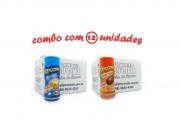 TEMPEROS P/ PIPOCA - Cx 12 FRASCOS - 6 MANTEIGA - 6  FRANGO ASSADO