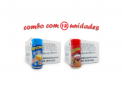 TEMPEROS P/ PIPOCA - Cx 12 FRASCOS - 6 MANTEIGA - 6  PRESUNTO