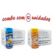 TEMPEROS P/ PIPOCA - Cx 12 FRASCOS - 6 MANTEIGA - 6  SAL POPCORN