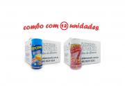 TEMPEROS P/ PIPOCA - Cx 12 FRASCOS - 6 MANTEIGA - 6  SAL DO HIMALAIA