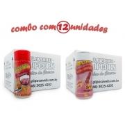 TEMPEROS P/ PIPOCA - Cx 12 FRASCOS - 6 PRESUNTO -  6 SAL DO HIMALAIA