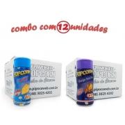TEMPEROS P/ PIPOCA - Cx 12 FRASCOS - 6 QUEIJO - 6 QUEIJO NACHO