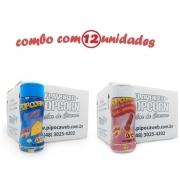 TEMPEROS P/ PIPOCA - Cx 12 FRASCOS - 6 QUEIJO - 6 SAL DO HIMALAIA
