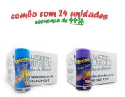 TEMPEROS P/ PIPOCA - Cx 24 FRASCOS - 12 4 QUEIJOS  - 12 QUEIJO NACHO
