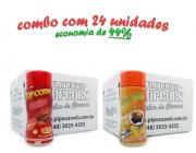 TEMPEROS P/ PIPOCA - Cx 24 FRASCOS - 12 BACON - 12 MOLHO MEXICANO