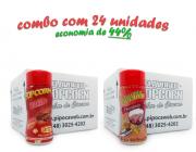 TEMPEROS P/ PIPOCA - Cx 24 FRASCOS - 12 BACON  - 12 PRESUNTO