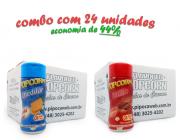 TEMPEROS P/ PIPOCA - Cx 24 FRASCOS - 12 CHEDDAR - 12 BACON