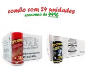 TEMPEROS P/ PIPOCA - CX 24 FRASCOS - 12 CHURRASCO - 12 FLAVAPOP MANTEIGA