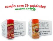 TEMPEROS P/ PIPOCA - CX 24 FRASCOS - 12 CHURRASCO - 12 FRANGO ASSADO