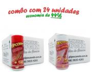 TEMPEROS P/ PIPOCA - CX 24 FRASCOS - 12 CHURRASCO - 12 SAL DO HIMALAIA