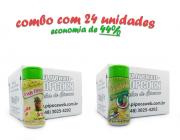 TEMPEROS P/ PIPOCA - Cx 24 FRASCOS - 12 ERVAS FINAS  - 12 PIMENTA E LIMÃO