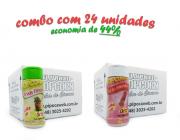TEMPEROS P/ PIPOCA - Cx 24 FRASCOS - 12 ERVAS FINAS  - 12 SAL DO HIMALAIA