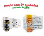TEMPEROS P/ PIPOCA - Cx 24 FRASCOS - 12 FLAVAPOP MANTEIGA - 12 SAL POPCORN