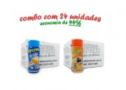 TEMPEROS P/ PIPOCA - Cx 24 FRASCOS - 12 MANTEIGA - 12 MOLHO MEXICANO