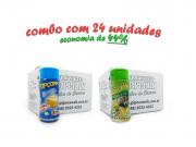 TEMPEROS P/ PIPOCA - Cx 24 FRASCOS - 12 MANTEIGA - 12 PARMESÃO E ALHO