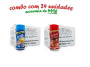 TEMPEROS P/ PIPOCA - Cx 24 FRASCOS - 12 MANTEIGA - 12 PICANHA