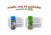 TEMPEROS P/ PIPOCA - Cx 24 FRASCOS - 12 MANTEIGA - 12 PIMENTA E LIMÃO