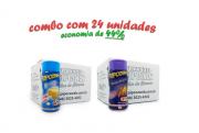 TEMPEROS P/ PIPOCA - Cx 24 FRASCOS - 12 MANTEIGA - 12 QUEIJO NACHO