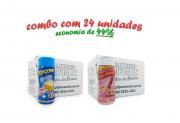 TEMPEROS P/ PIPOCA - Cx 24 FRASCOS - 12 MANTEIGA - 12 SAL DO HIMALAIA