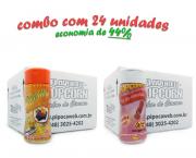 TEMPEROS P/ PIPOCA - Cx 24 FRASCOS - 12 MOLHO MEXICANO - 12 SAL DO HIMALAIA