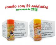 TEMPEROS P/ PIPOCA - Cx 24 FRASCOS - 12 MOLHO MEXICANO - 12 SAL POPCORN