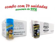 TEMPEROS P/ PIPOCA - Cx 24 FRASCOS - 12 PARMESÃO - 12 FLAVAPOP MANTEIGA