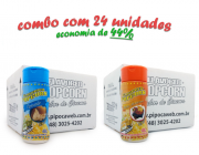 TEMPEROS P/ PIPOCA - Cx 24 FRASCOS - 12 PARMESÃO - 12 MOLHO MEXICANO