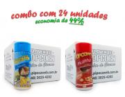 TEMPEROS P/ PIPOCA - Cx 24 FRASCOS - 12 PARMESÃO - 12 PICANHA
