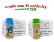 TEMPEROS P/ PIPOCA - Cx 24 FRASCOS - 12 PARMESÃO - 12 TOMATE E QUEIJO