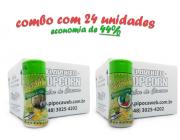 TEMPEROS P/ PIPOCA - Cx 24 FRASCOS - 12 PARMESÃO E ALHO - 12 PIMENTA E LIMÃO